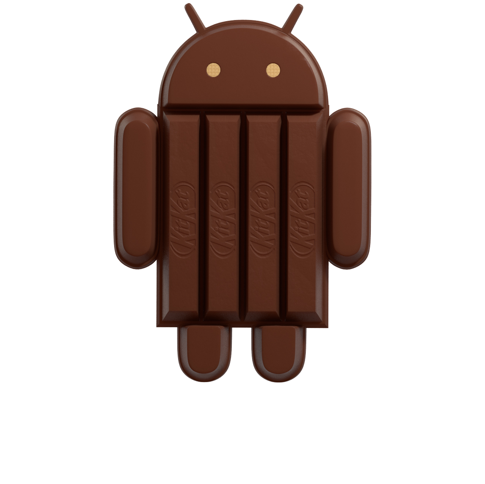 Android Kitkat Logo Png 1 PNG Image
