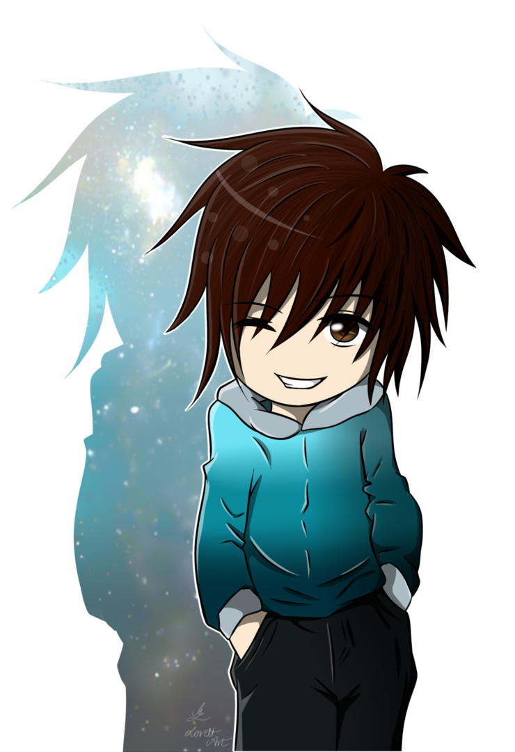 Anime boy chibi png 6