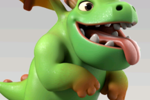 Baby Dragon Clash Royale Png 1 Png Image