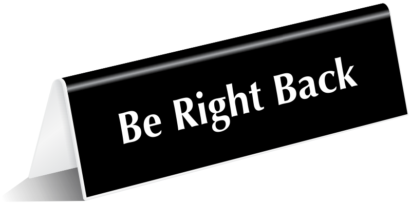 be right back png 8 png image