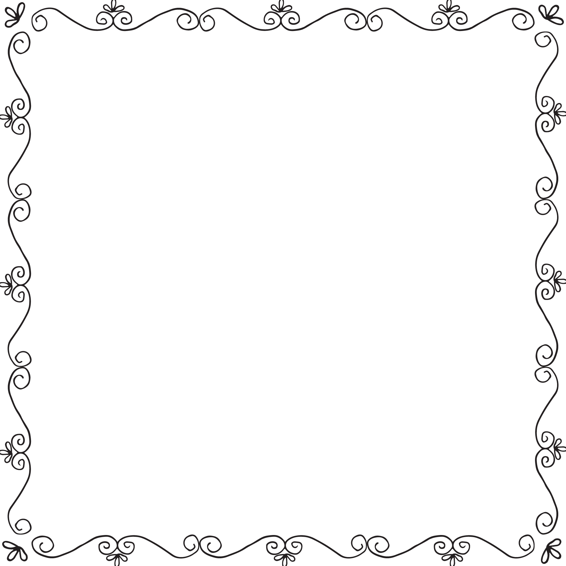 Beauty And The Beast Frame Png 2 Png Image