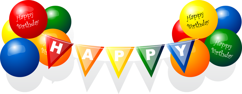 birthday banner vector png 5 png image