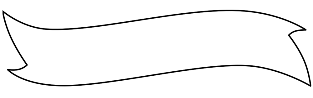 blank banner template png 4 png image