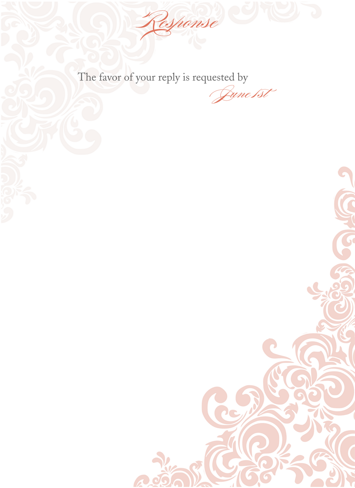 Blank Invitation Card Png 1 Png Image