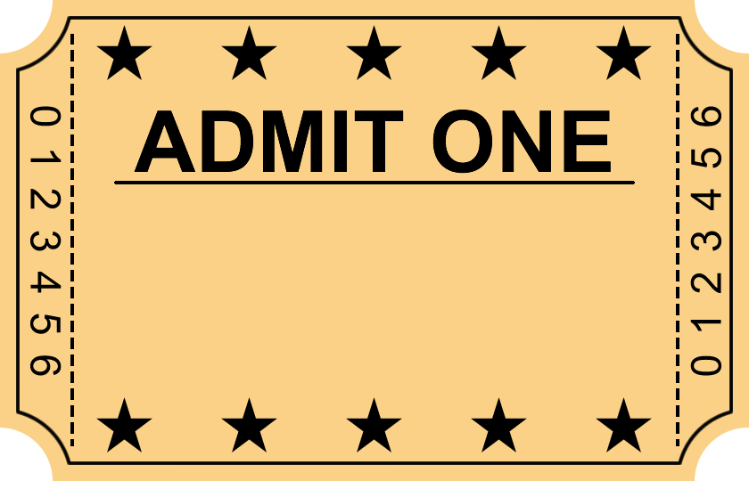 blank movie ticket png 2 png image