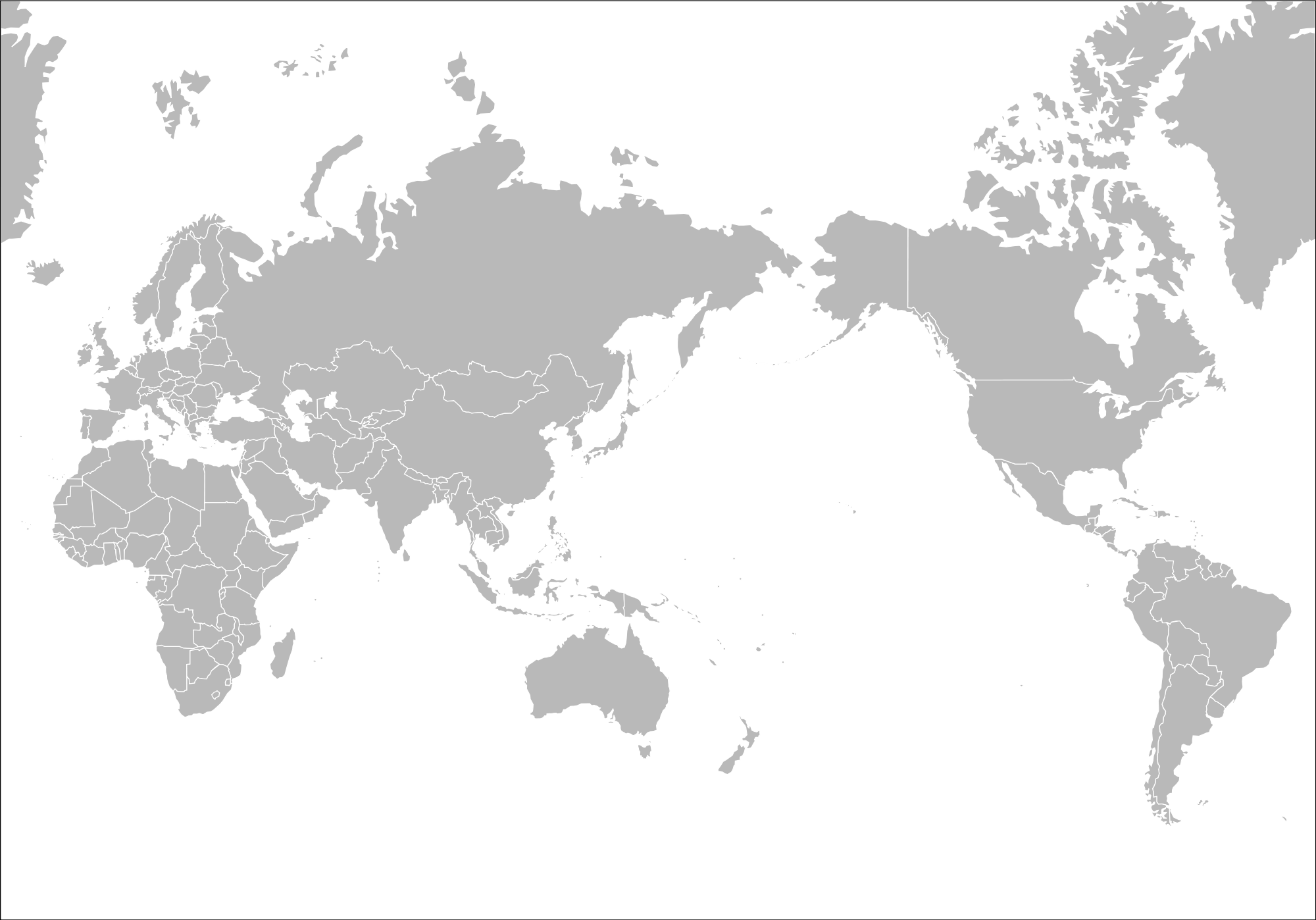 Blank World Map Png.Blank World Map Png 6 Png Image