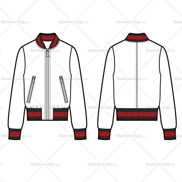 bomber jacket template png 4 png image