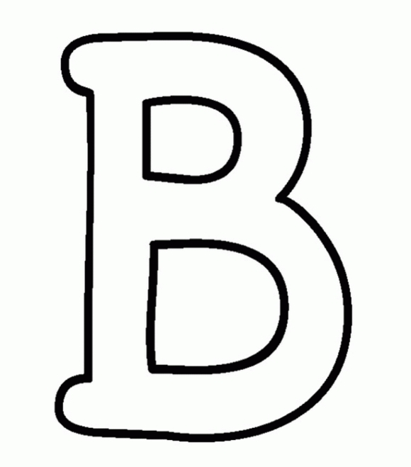 B Coloring Sheets : My B Book Alphabet Coloring Pages. Christmas in Bubble Letters B