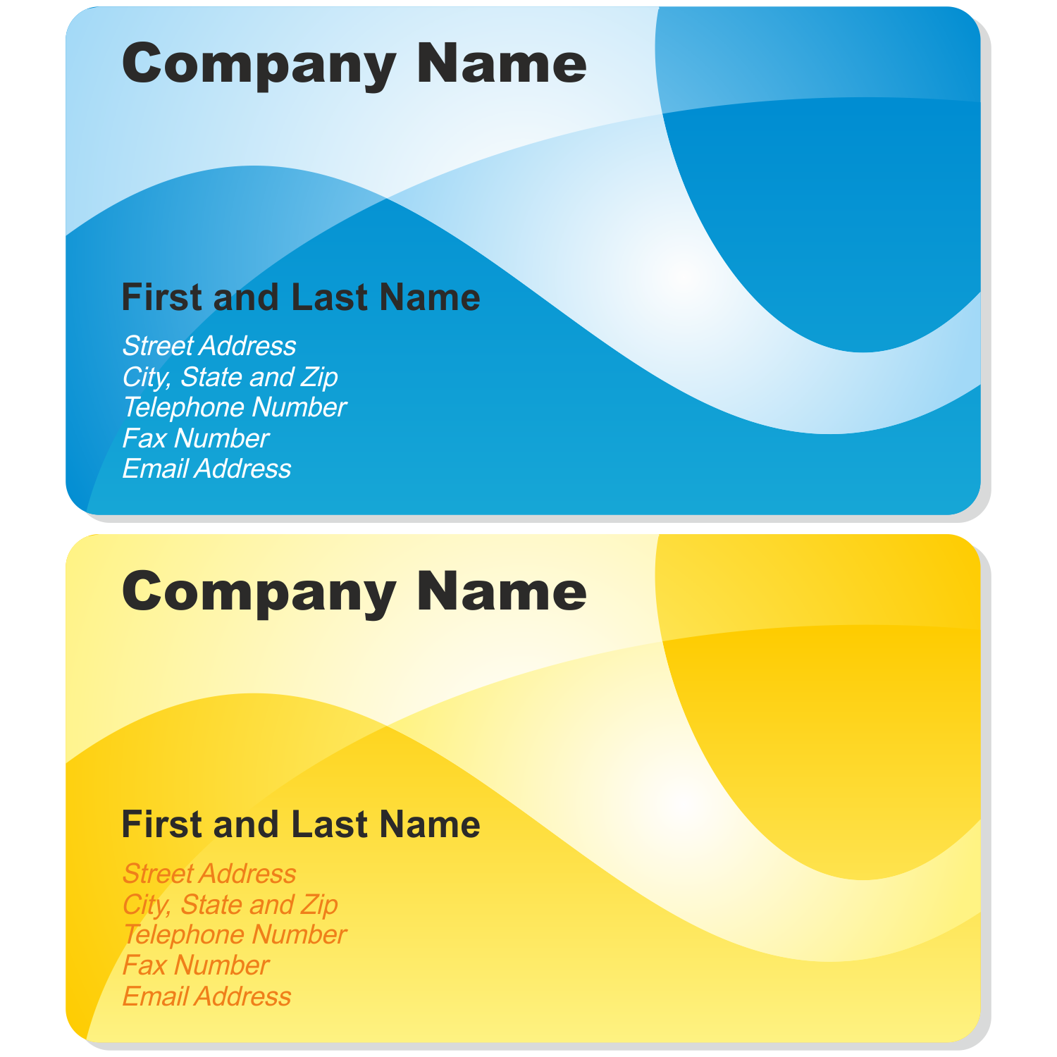 Calling Card Template Png 9 Png Image