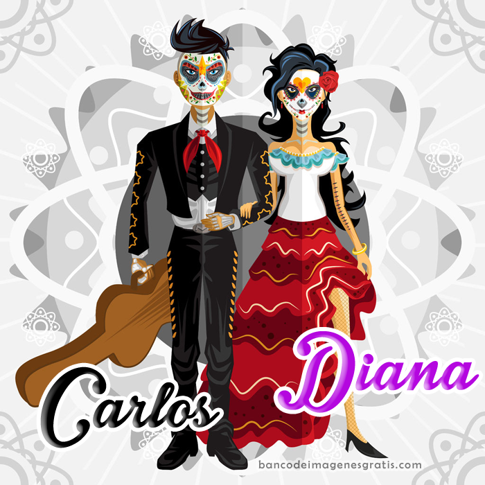 Catrin Y Catrina Png 6 Png Image