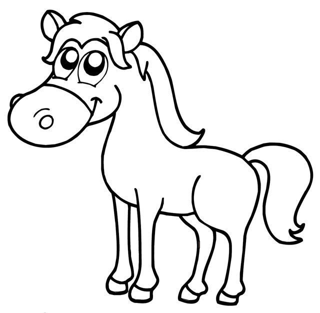 Cheval Dessin Png 6 Png Image