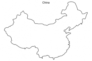 China Map Outline Png 6 Png Image