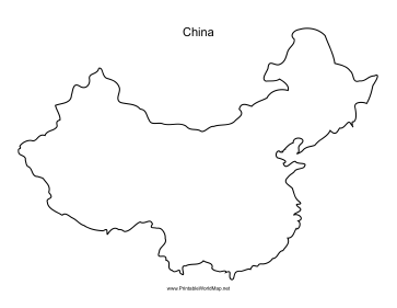 China Map Outline Png 7 Png Image