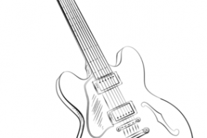 Chitarra Disegno Png Png Image