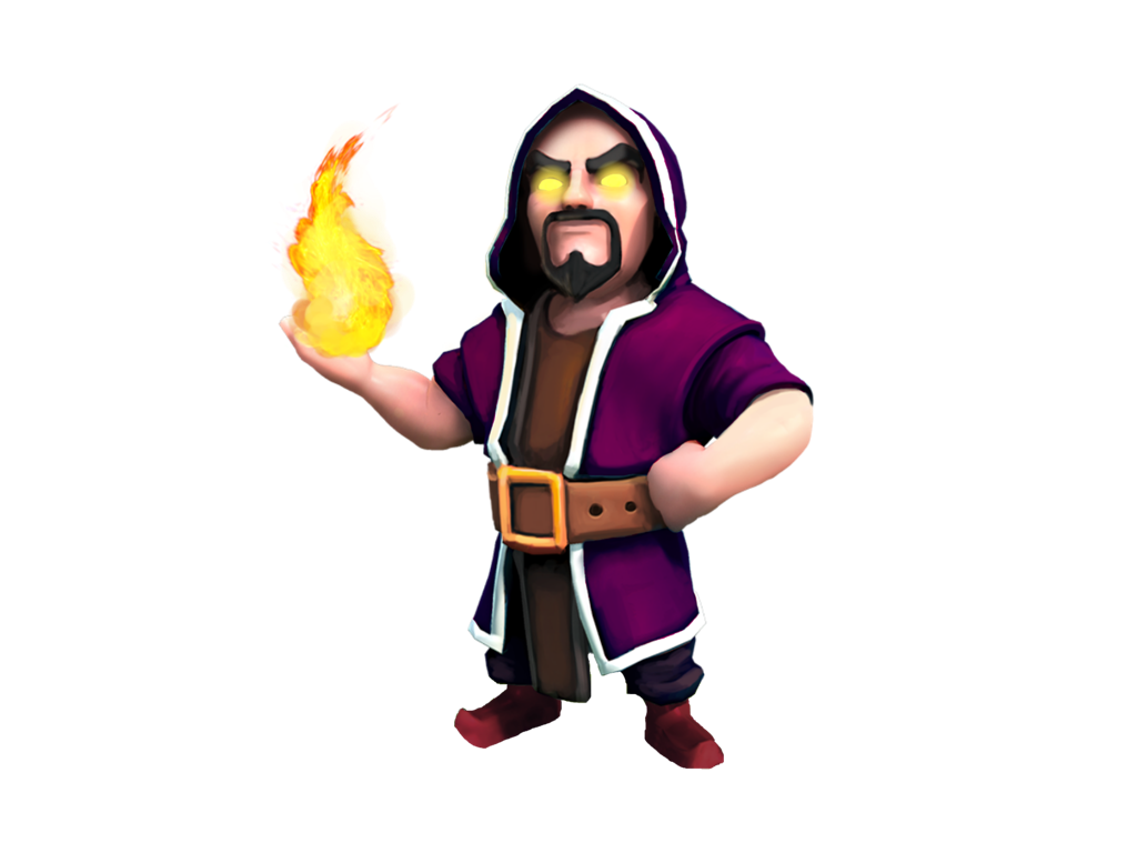 Clash Of Clans Wizard Png 1 Png Image