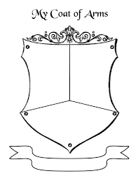 coat of arms template png 1 png image