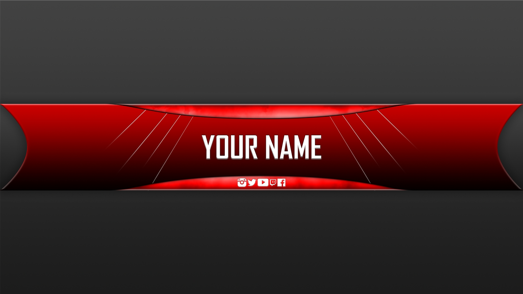 free youtube banner templates helmar designs intended for cool