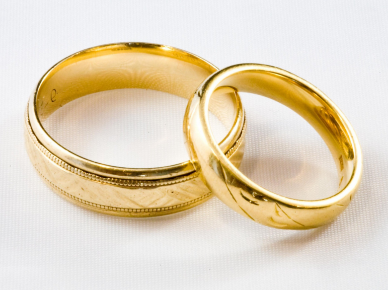 Couple Ring Gold Png 2 Png Image