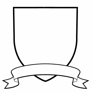 crest template png 4 png image