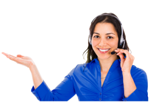 customer service girl png