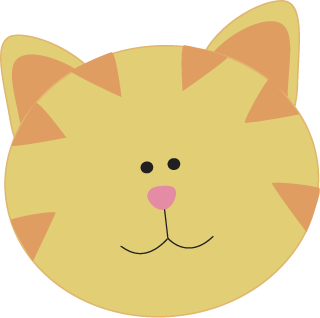 cute cat face png png image