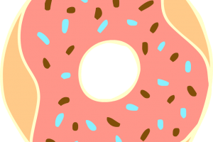 cute donut png 3