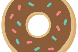 cute donut png