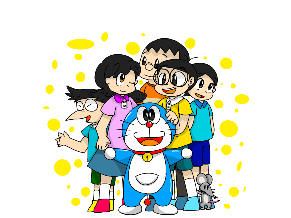 Picture Of Doraemon And Friends - picture of