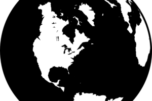 earth silhouette png 1