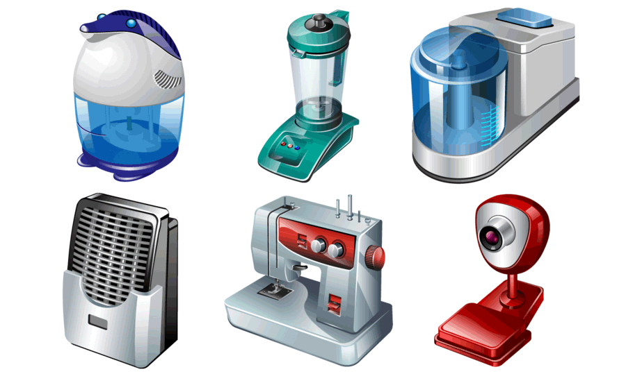 Electrical Appliances In The Home Png 4 Png Image