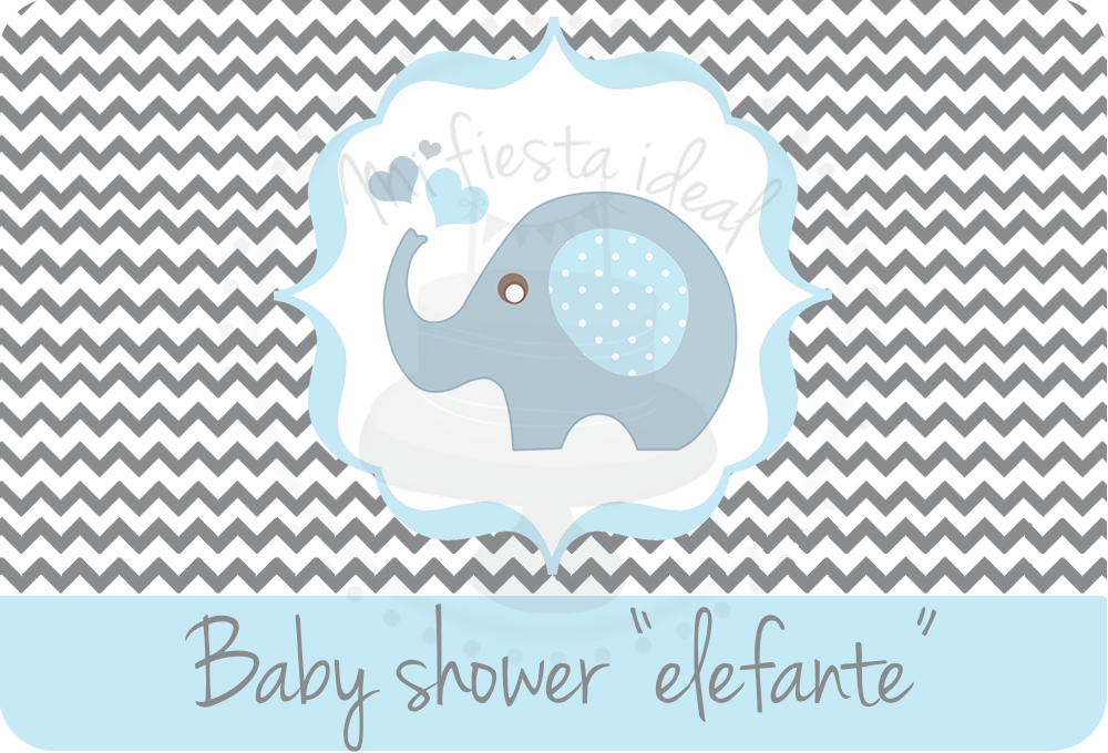 Baby Shower Elefante Png Baby Viewer