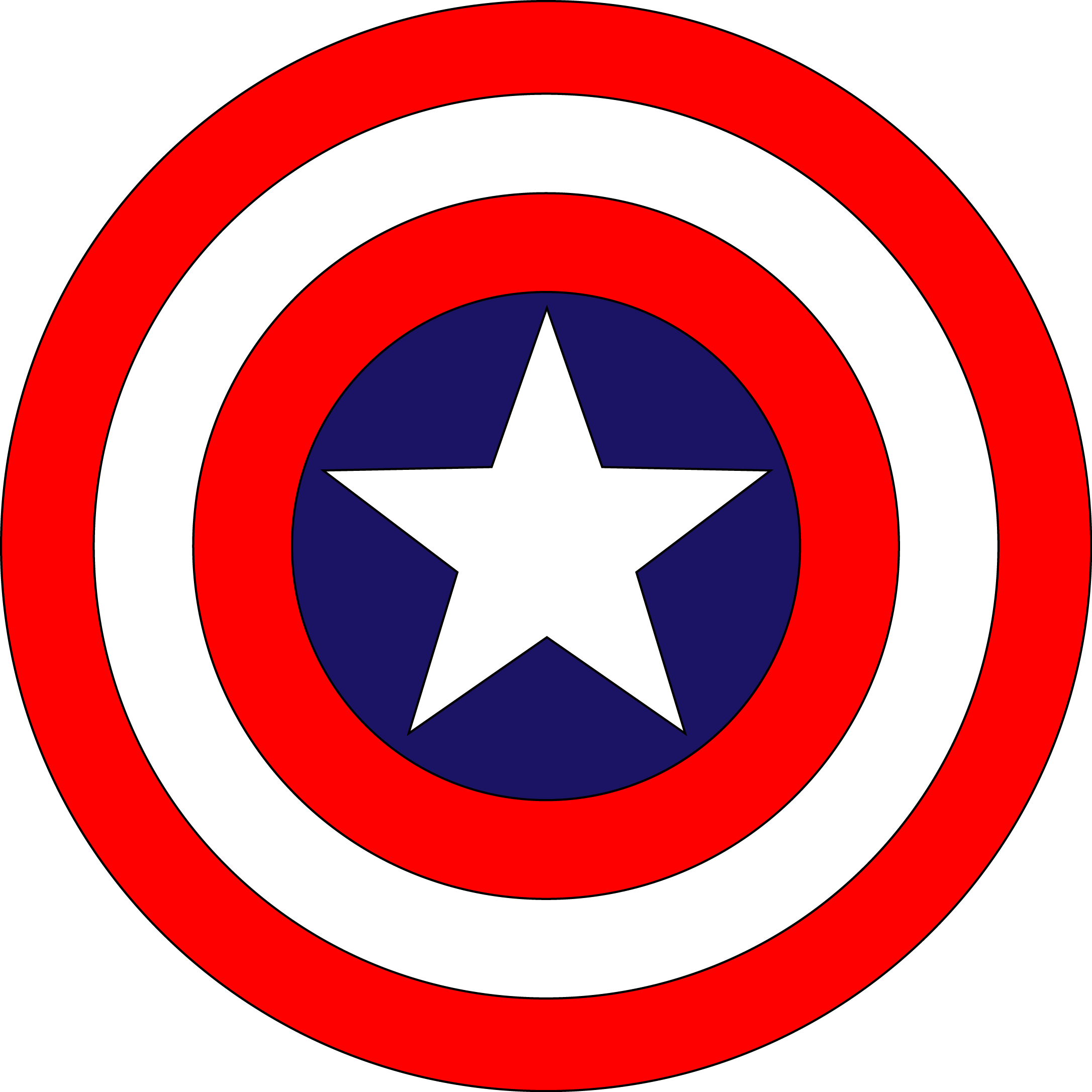 Escudo Capitao America Png 1 Png Image