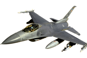 f 16 fly png