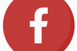 facebook icon red png