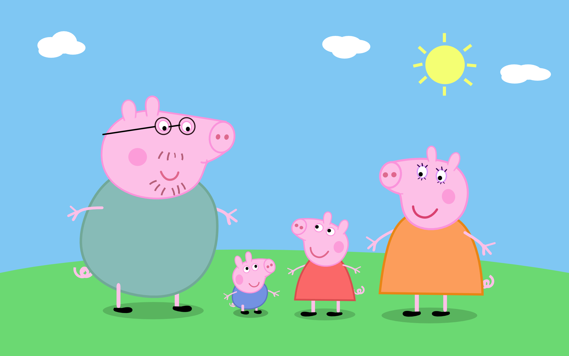 Familia Peppa Png Png Image