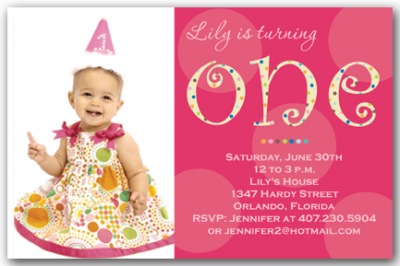 1st Birthday Invitation Girl Png 3 Png Image