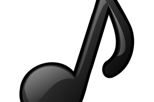 3d music note png 1