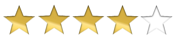 4 out of 5 stars png 2 » PNG Image