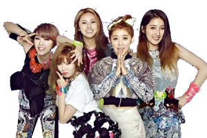 4minute png 5