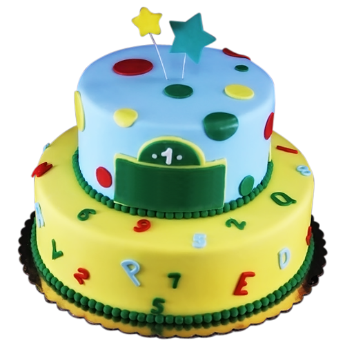 First Birthday Cake Png 2 Png Image