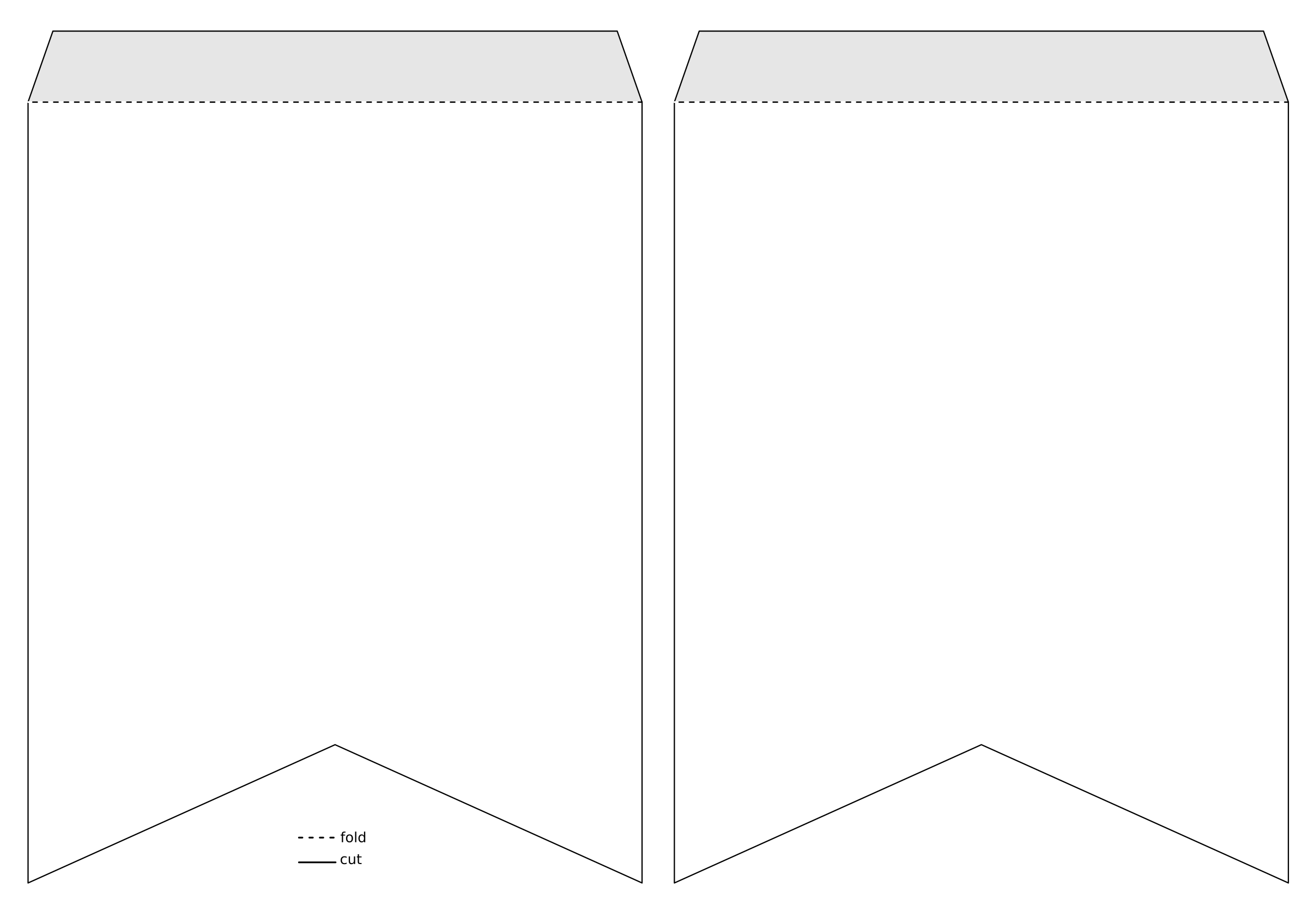 flag banner template png 1 png image