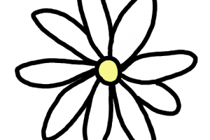 Flores Vintage Blanco Y Negro Png Png Image