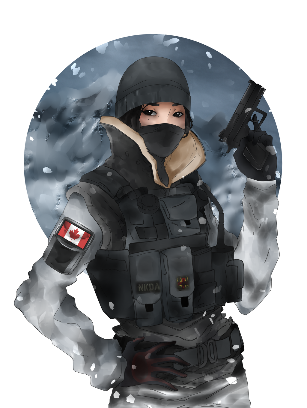 Frost Rainbow Six Siege Png 8 Png Image