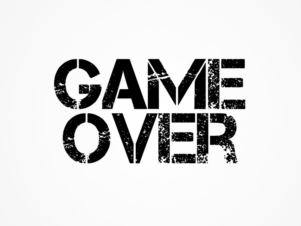 game over logo png 4