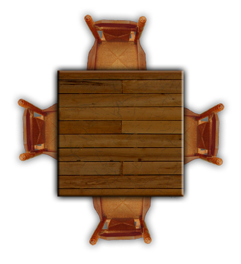 Garden Furniture Top View Png 1