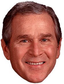 George Bush Face Png 1 Png Image