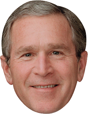 George Bush Face Png 4 Png Image