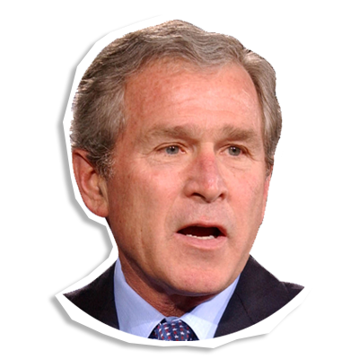 George Bush Face Png 5 Png Image