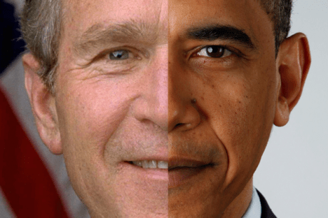 George W Bush Face Png 5 Png Image
