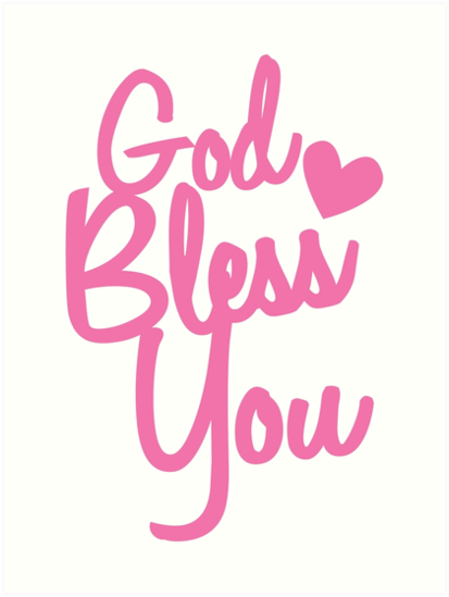 God Bless You Png 6 Png Image
